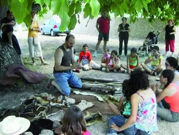Complejo Rural Camping Las Nogueras de Nerpio Aula de interpretación de la naturaleza