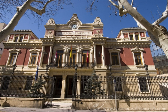 Palacio de la Diputación de Albacete Diputacion de Albacete