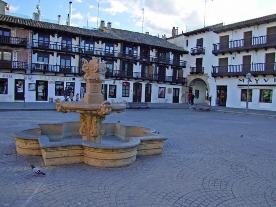 Plaza Mayor de Tarazona de la Mancha Plaza de Tarazona de La Mancha