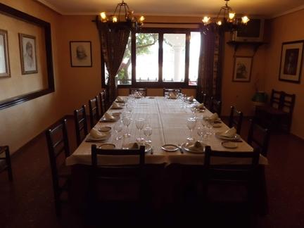 Restaurante del Hostal Los Cazadores de Albacete Hostal restaurante Los Cazadores de Albacete