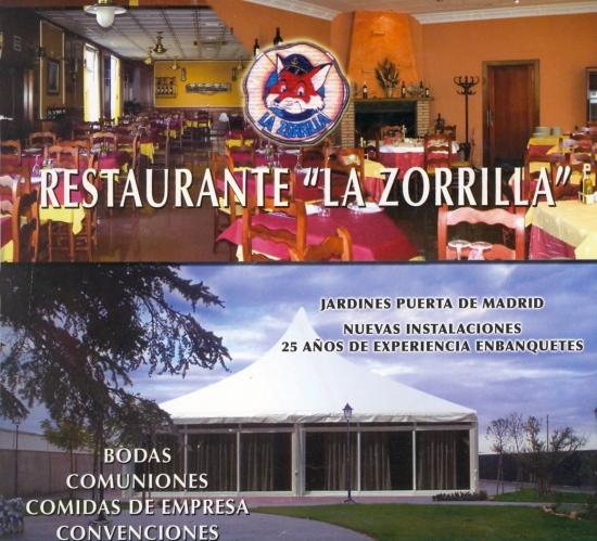 Restaurante Nueva Zorrilla y Jardines Puerta Madrid Restaurante La Zorrilla