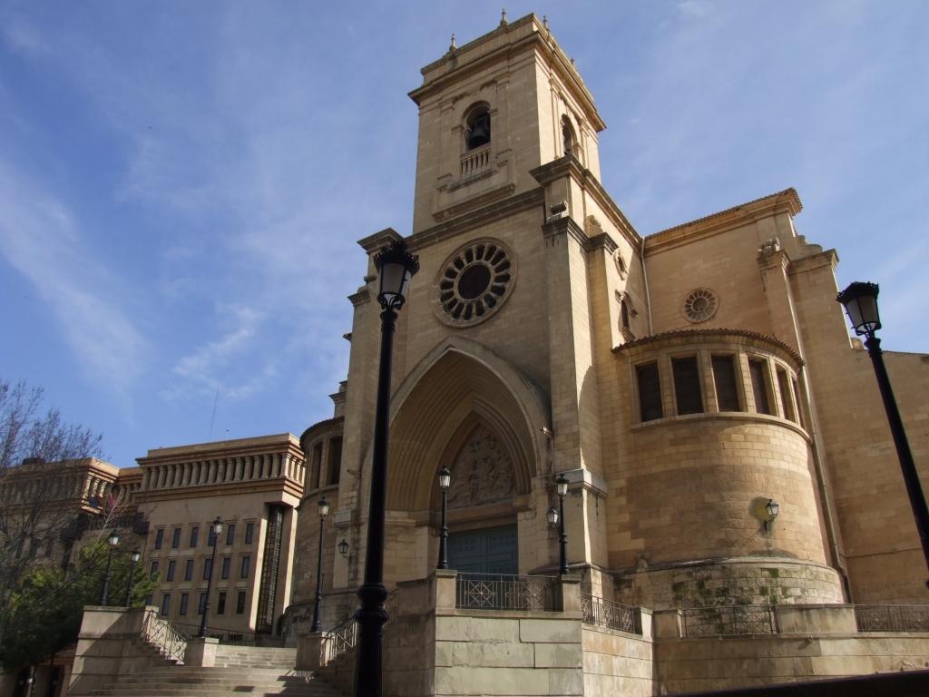 Catedral  de San Juan Bautista en  Albacete Catedral de San Juan Bautista (Albacete)