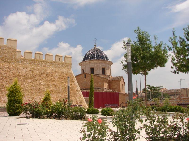 Iglesia de Santa Catalina Caudete castillo de caudete