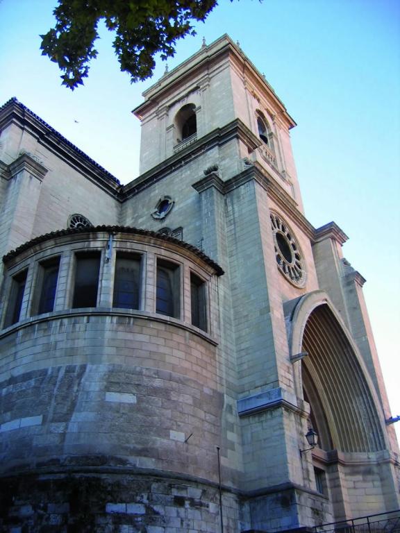 Catedral  de San Juan Bautista en  Albacete Catedral de San Juan (Albacete)