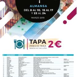 Premiados en las XI Jornadas de la Tapa de Almansa