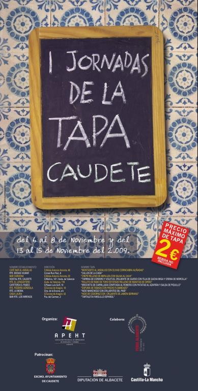 1st Caudete Tapas Fair