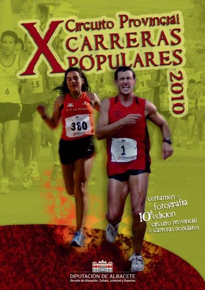 X Circuito Provincial de Carreras Populares Diputación de Albacete