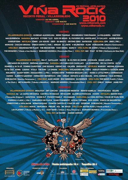 15th Viña Rock Festival 2010