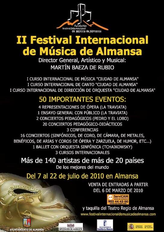 II Festival Internacional de Música de Almansa