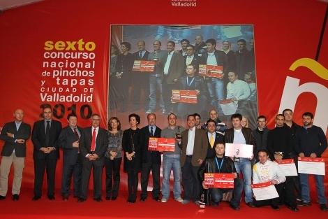 El albaceteño Guilermo Rodríguez García de 'De Pintxos' gana el 2º Premio del Concurso Nacional de Pinchos de Valladolid