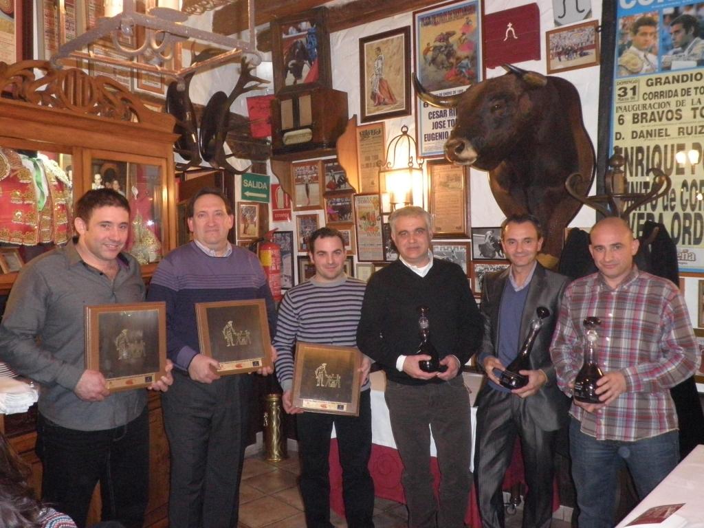 Entrega de premios del I Concurso del Cordero y el Vino