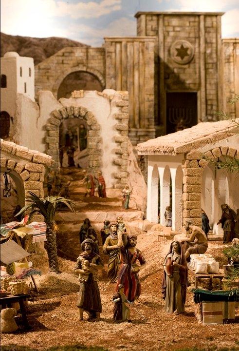 Inaugurado el Belén Parroquial de La Roda