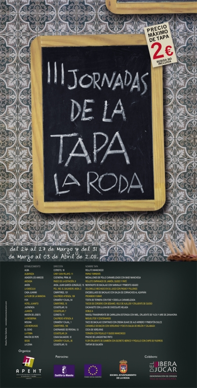 III Jornadas de la Tapa La Roda 2011