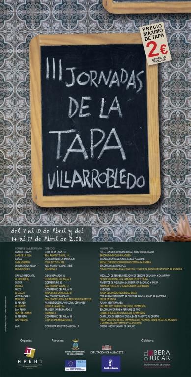 3rd Villarrobledo Tapas Fair