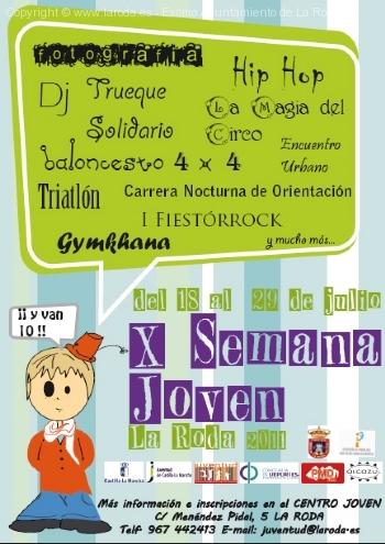 X Semana Joven de La Roda 2011