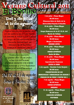 Verano Cultural en El Bonillo 2011