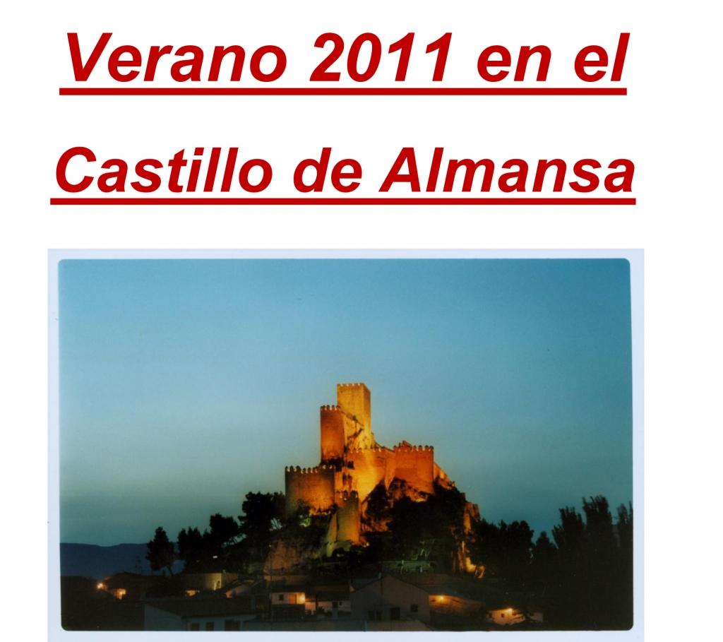 Verano Cultural en el Castillo de Almansa 2011