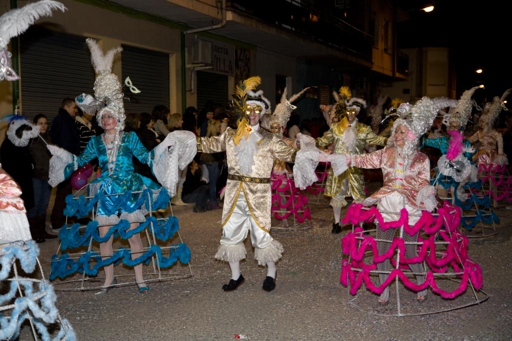 Carnavales en La Roda