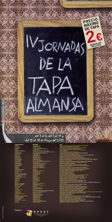 Ganadores de las IV Jornadas de la Tapa de Almansa
