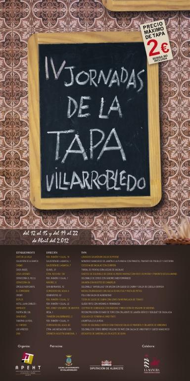Ganadores de las IV Jornadas de la Tapa de Villarrobledo