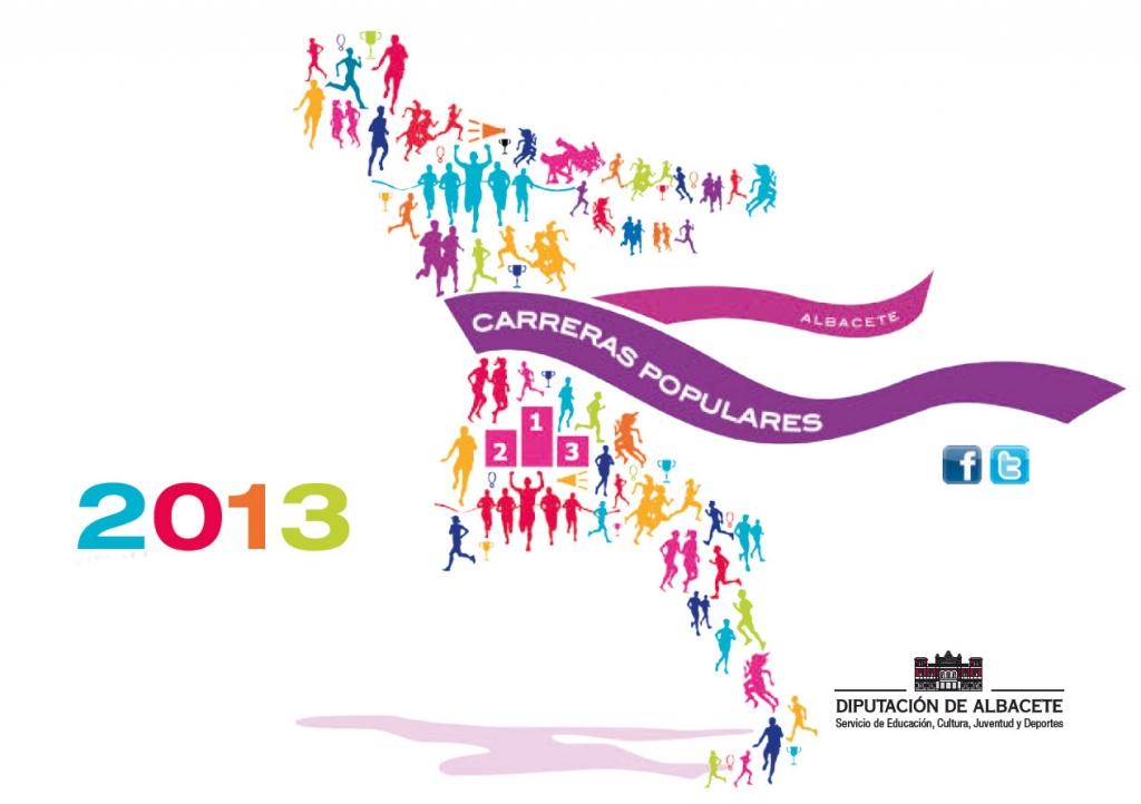 XIII Circuito Provincial de Carreras Populares 'Diputación de Albacete'2013. Carreras de DICIEMBRE
