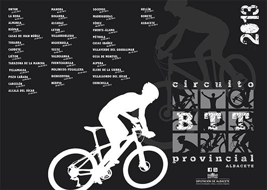 Circuito BTT Diputación de Albacete 2013.Carreras de DICIEMBRE