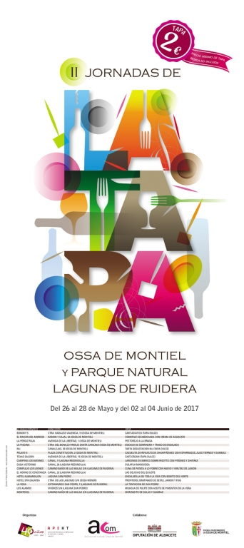 II Jornadas de la Tapa de Ossa de Montiel y Lagunas de Ruidera