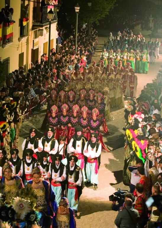 Fiestas de Moros y Cristianos en Almansa