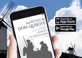 App Rutas del Quijote a su paso por Albacete