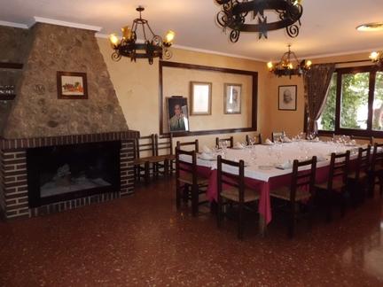 restaurante del Hostal  Los Cazadores de Albacete