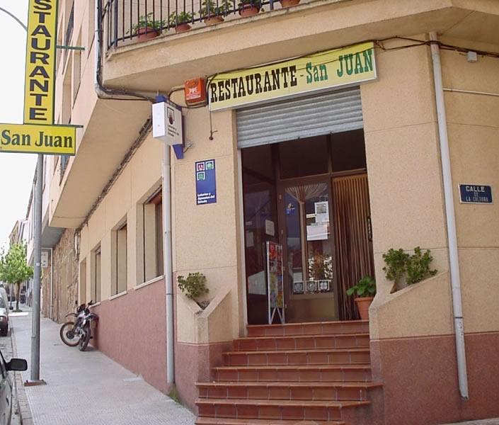 Restaurante San Juan Riópar Restaurante San Juan