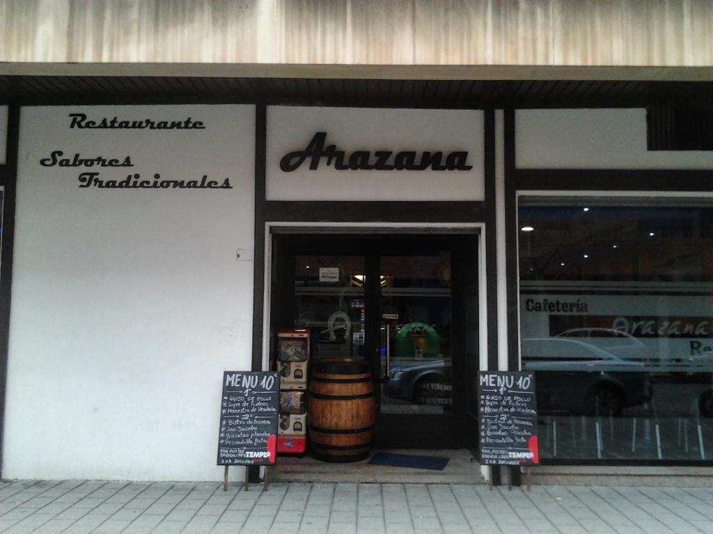 restaurante arazana